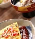 豆腐オムレツの献立