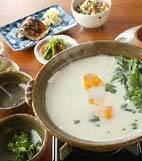 湯豆腐・豆乳鍋仕立ての献立