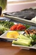 「手巻き寿司」の献立