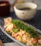 甘塩鮭の簡単混ぜずしの献立