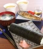 節分の巻き寿司(恵方巻き)の献立