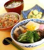 タラと豆腐のサッと煮の献立