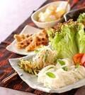 「手巻き素麺」の献立