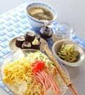 「具たっぷり冷麺」の献立