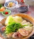 「鶏の水炊き」の献立