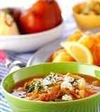 白菜のトマト鍋の献立
