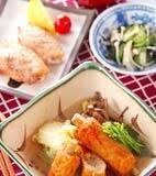 練り物と白菜の煮物の献立