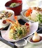 天ぷら盛り合わせの献立