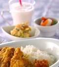 「チキン煮込みカレー」の献立