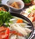「カニすき鍋」の献立