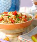 「炊き込み玄米ご飯」の献立