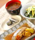 「黄金比の煮汁で!カレイの煮付け」の献立