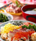 「春のちらし寿司」の献立