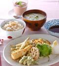 「春の天ぷら」の献立