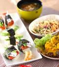 「ポークランチョンミート寿司」の献立