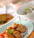 「鶏の唐揚げサルサソース」の献立
