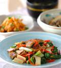 「うまい菜とウナギの炒め物」の献立