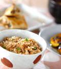 「ハマチの照焼き混ぜご飯」の献立