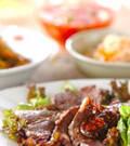 「焼き肉サラダ仕立て」の献立