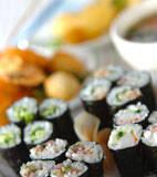 細巻き寿司の献立