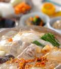 「鶏肉のキムチ豆乳仕立て」の献立