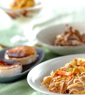 すき焼き風素麺の献立