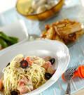 「トマトとツナの冷製バジルパスタ」の献立
