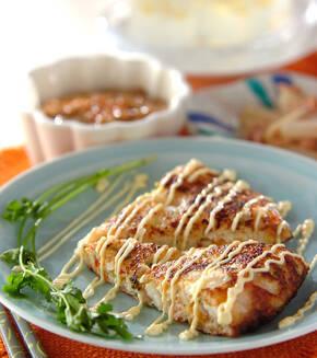 大和芋のフライパン焼きの献立