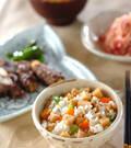 「タケノコの混ぜご飯」の献立
