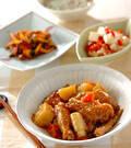 「手羽肉の中華風煮込み」の献立