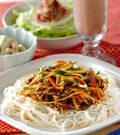 「ビビンバ素麺」の献立