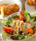 「ゆで鶏のサラダ仕立て」の献立