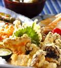 「いろいろキノコの天ぷら」の献立