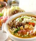 「カレーポーク鍋」の献立