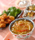 「白ネギとザーサイの中華丼」の献立