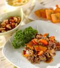 「炒め牛肉のマリネ」の献立
