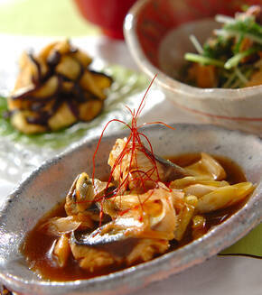 サバの中華煮の献立