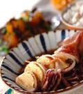 「イカのハンペン詰め煮」の献立