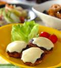 「シイタケの肉詰めチーズ焼き」の献立