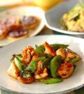 「鶏肉と緑野菜の中華炒め」の献立