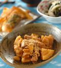 「鶏肉とタケノコのみそ煮」の献立