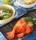 「白身魚のフレッシュトマトソース」の献立