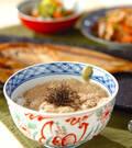 「麦トロご飯」の献立