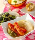 「トロトロ白菜の煮物」の献立