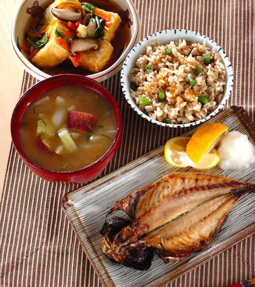 アジの開き」の献立・レシピ - 【E・レシピ】料理のプロが作る簡単 ...