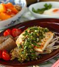 「豆腐のステーキ」の献立