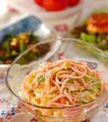 「たっぷり野菜の冷麺」の献立
