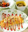 エビとカマンベールチーズのオムレツの献立