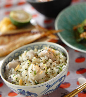 もっちり里芋の炊き込みご飯の献立
