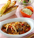 「たっぷり魚介のスープ」の献立